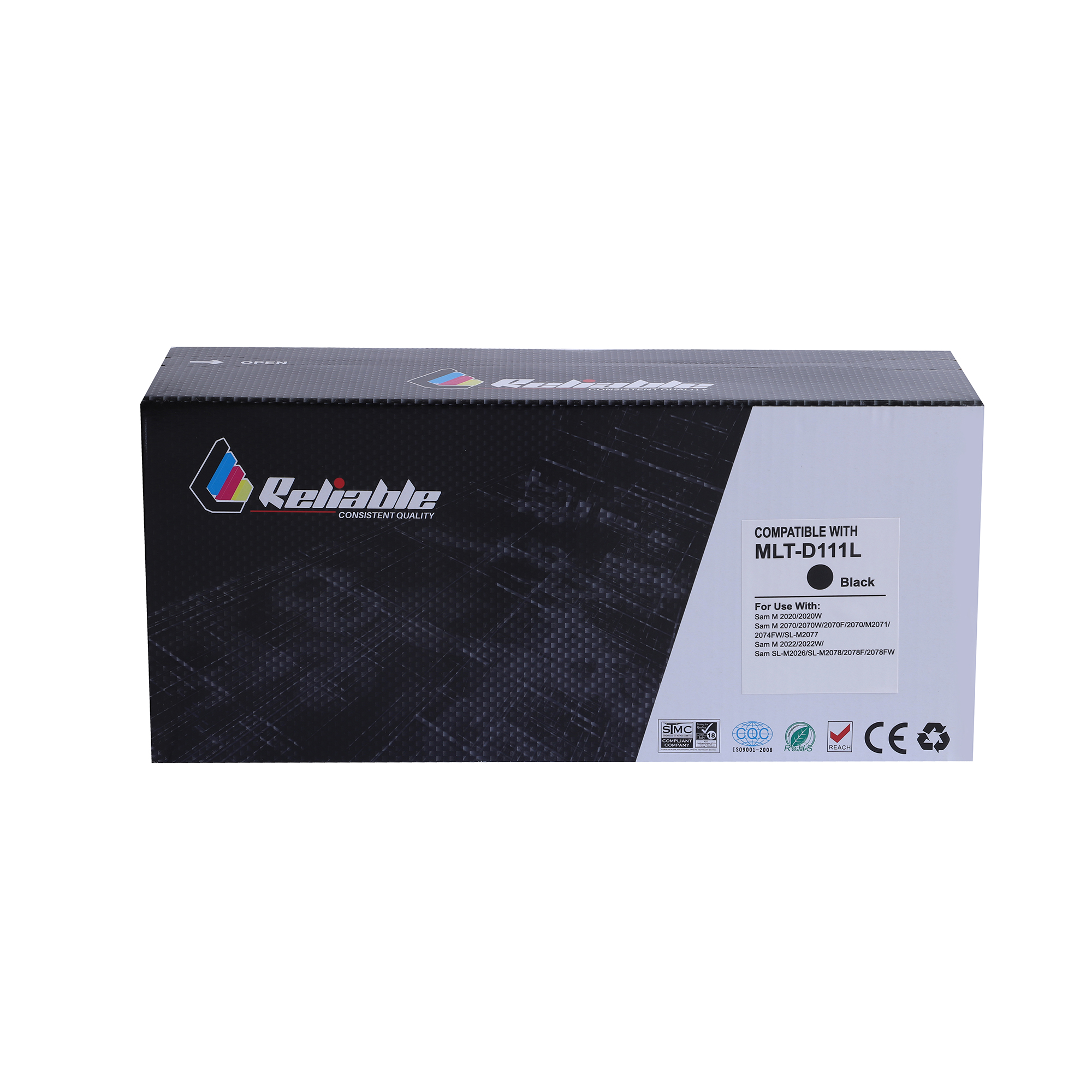 Reliable MLT-D111S Compatible Toner Cartridge - Black