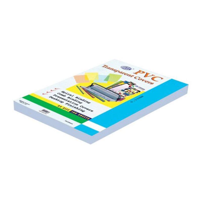 FIS FSCI18A4CL PVC Binding Sheets 180micron A4 - Clear (pkt/100pcs)