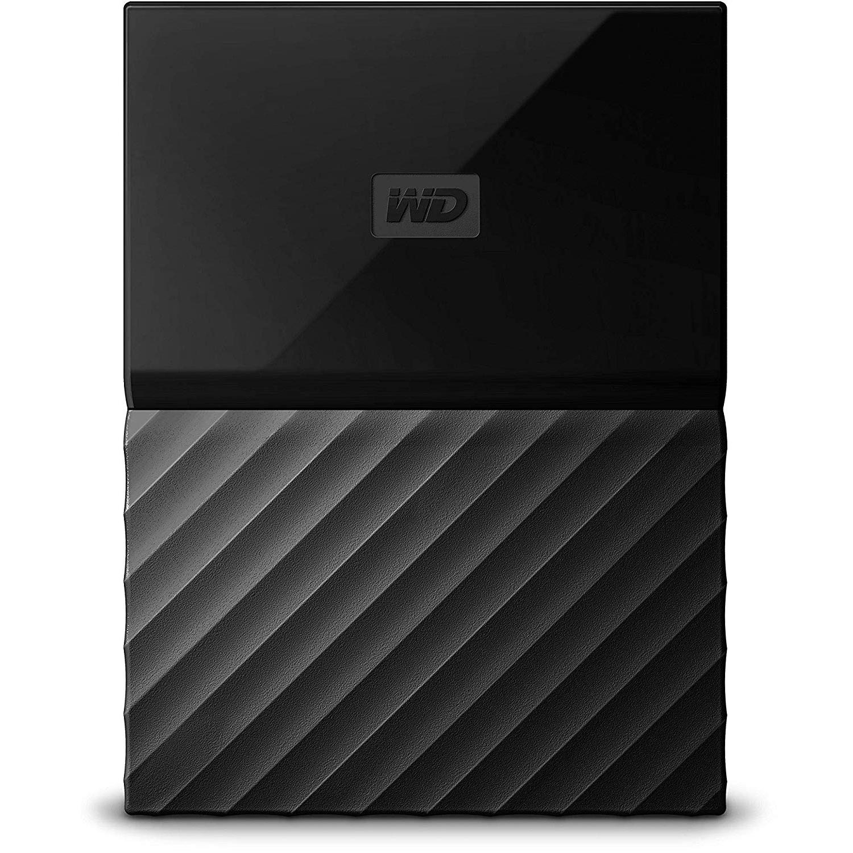 WD My Passport Ext HDD 4TB - Black