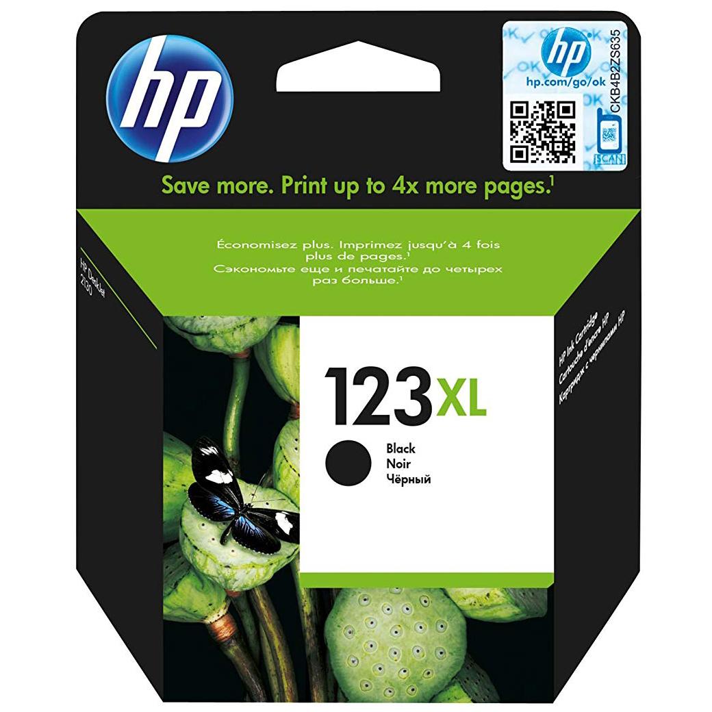 HP 123XL (F6V19AE) Ink Cartridge - Black