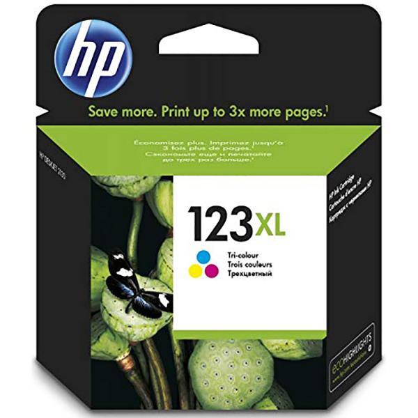 HP 123XL (F6V18AE) Ink Cartridge - Tri-color