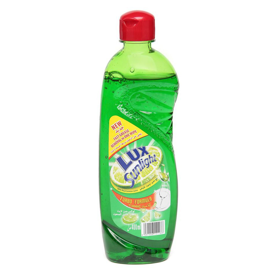 Lux Sunlight Dishwashing Liquid Regular - 400ml (pc)