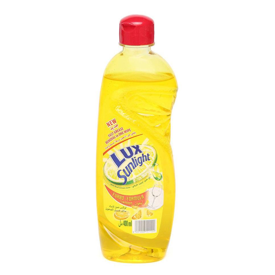 Lux Sunlight Dishwashing Liquid Lemon - 400ml (pc)