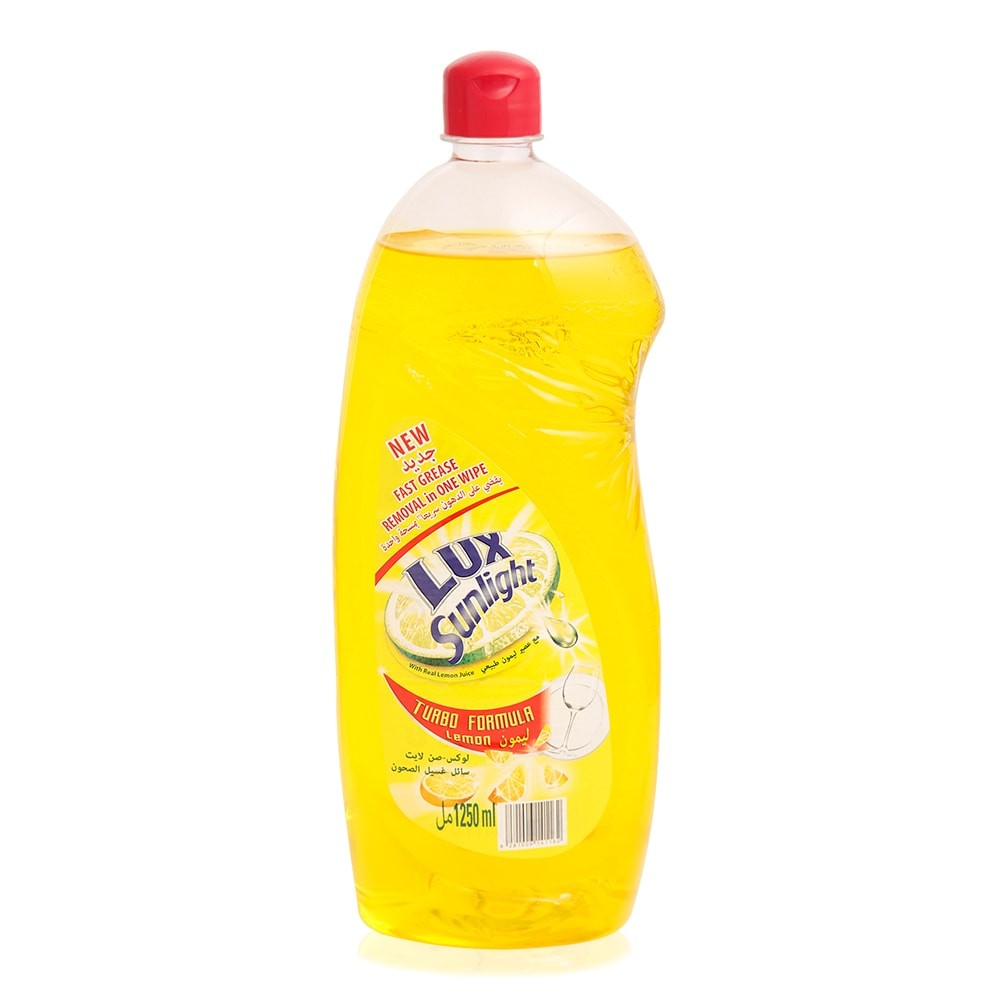 Lux Sunlight Dishwashing Liquid Lemon - 1250ml (pc)