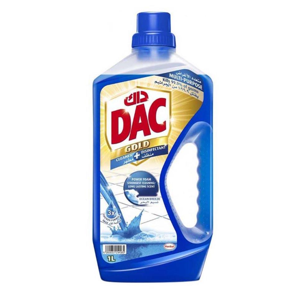 DAC Gold Disinfectant Ocean Breeze - 1L (pc)