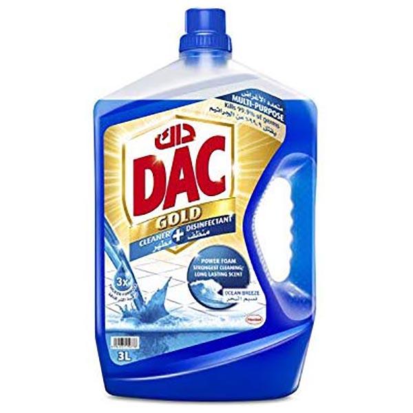 DAC Gold Disinfectant Ocean Breeze - 3L (pc)