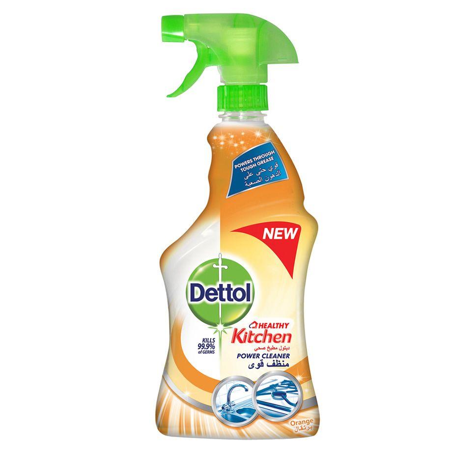 Dettol Power Kitchen Cleaner Orange Burst - 500ml (pc)