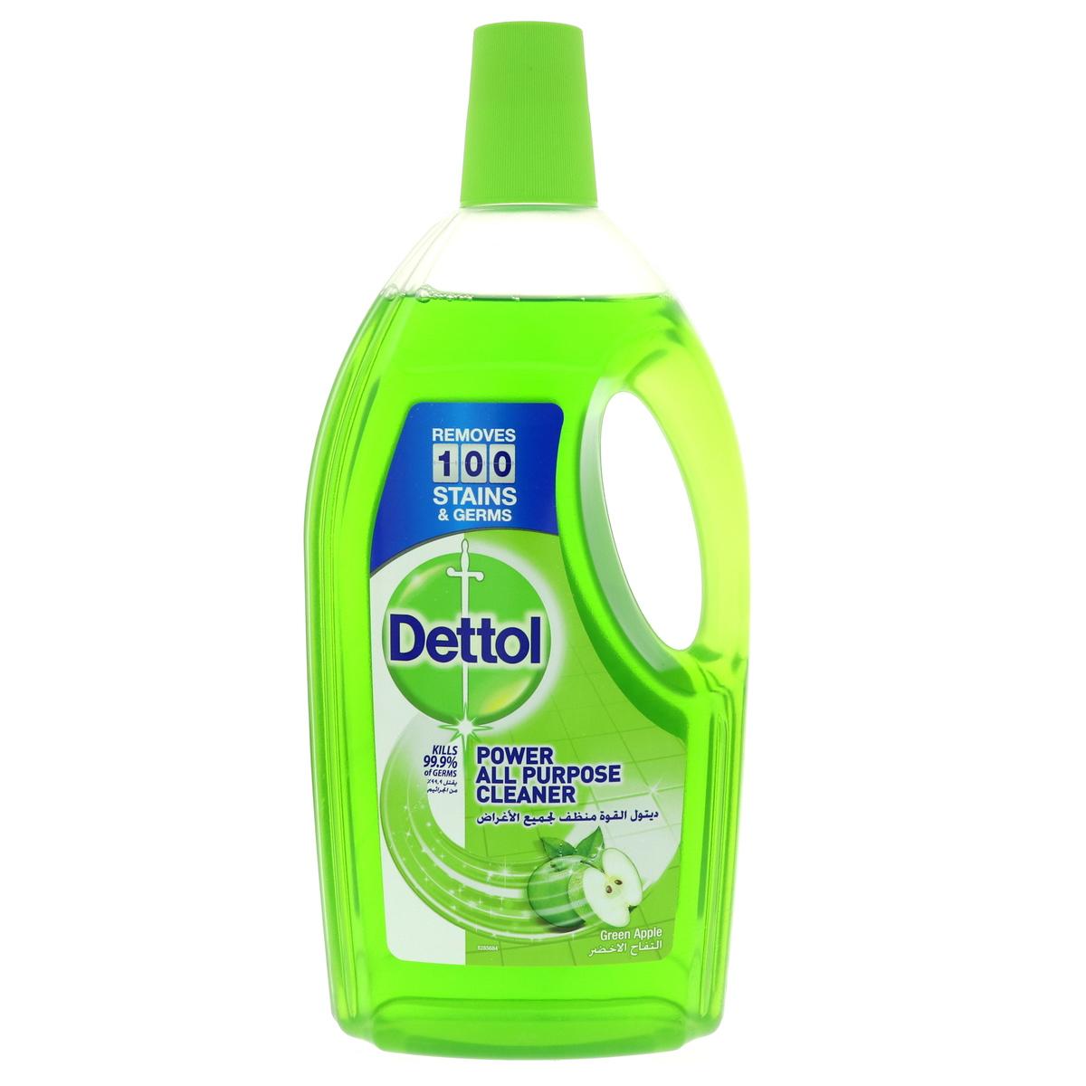 Dettol Power All-Purpose Cleaner Green Apple - 900ml (pc)
