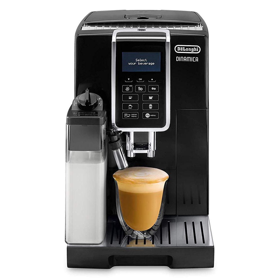 De'Longhi ECAM 350.55.B Dinamica Coffee Machine - Black
