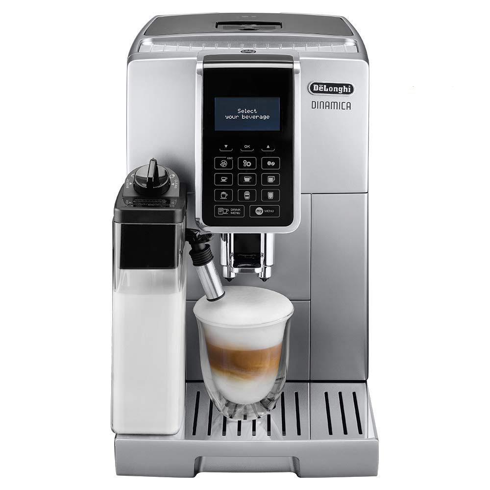 De'Longhi ECAM 350.75.S Dinamica Coffee Machine - Silver