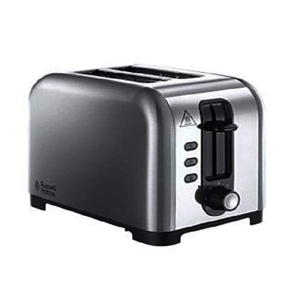 Russell Hobbs 23530 Henley Brushed 2 Slice Toaster - Silver