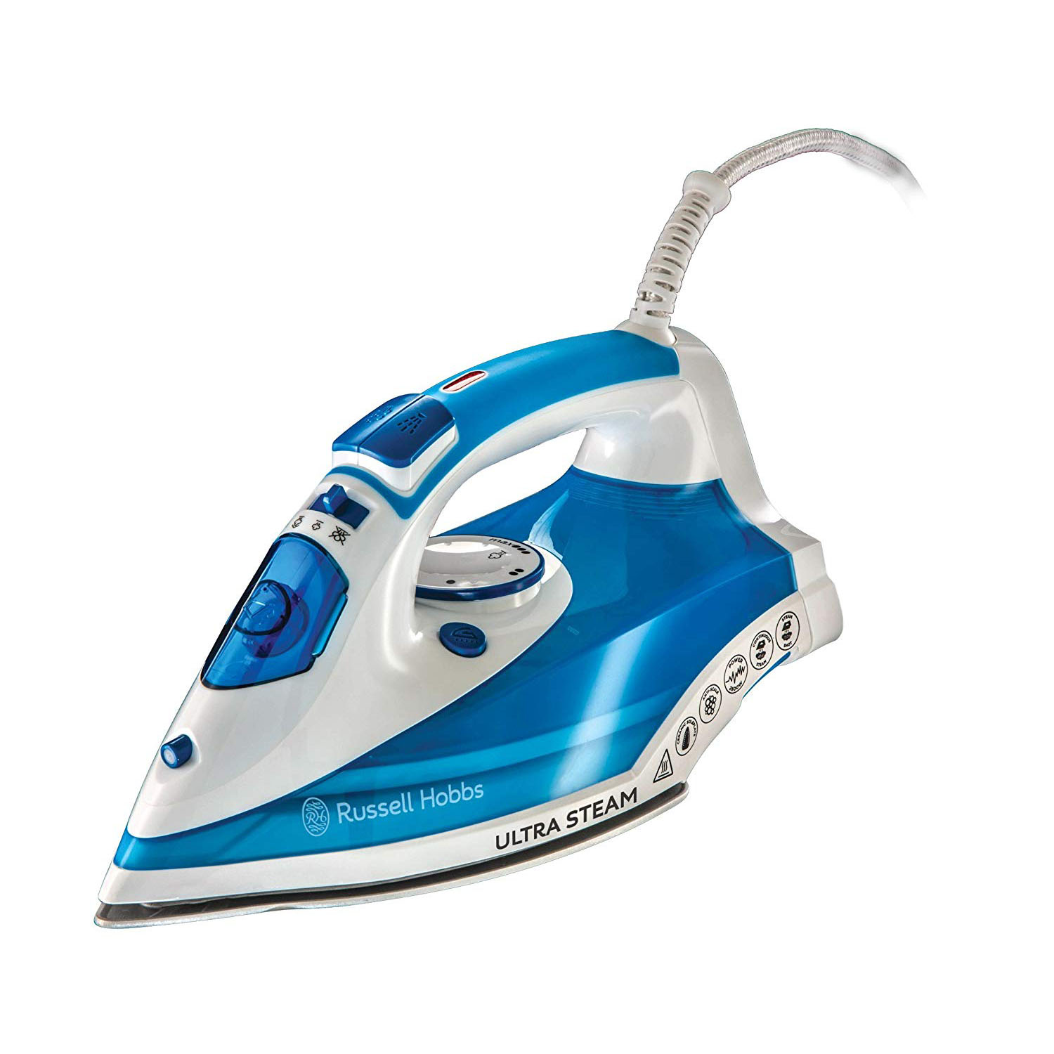 Russell Hobbs 23980 Ultra Steam Iron - Blue
