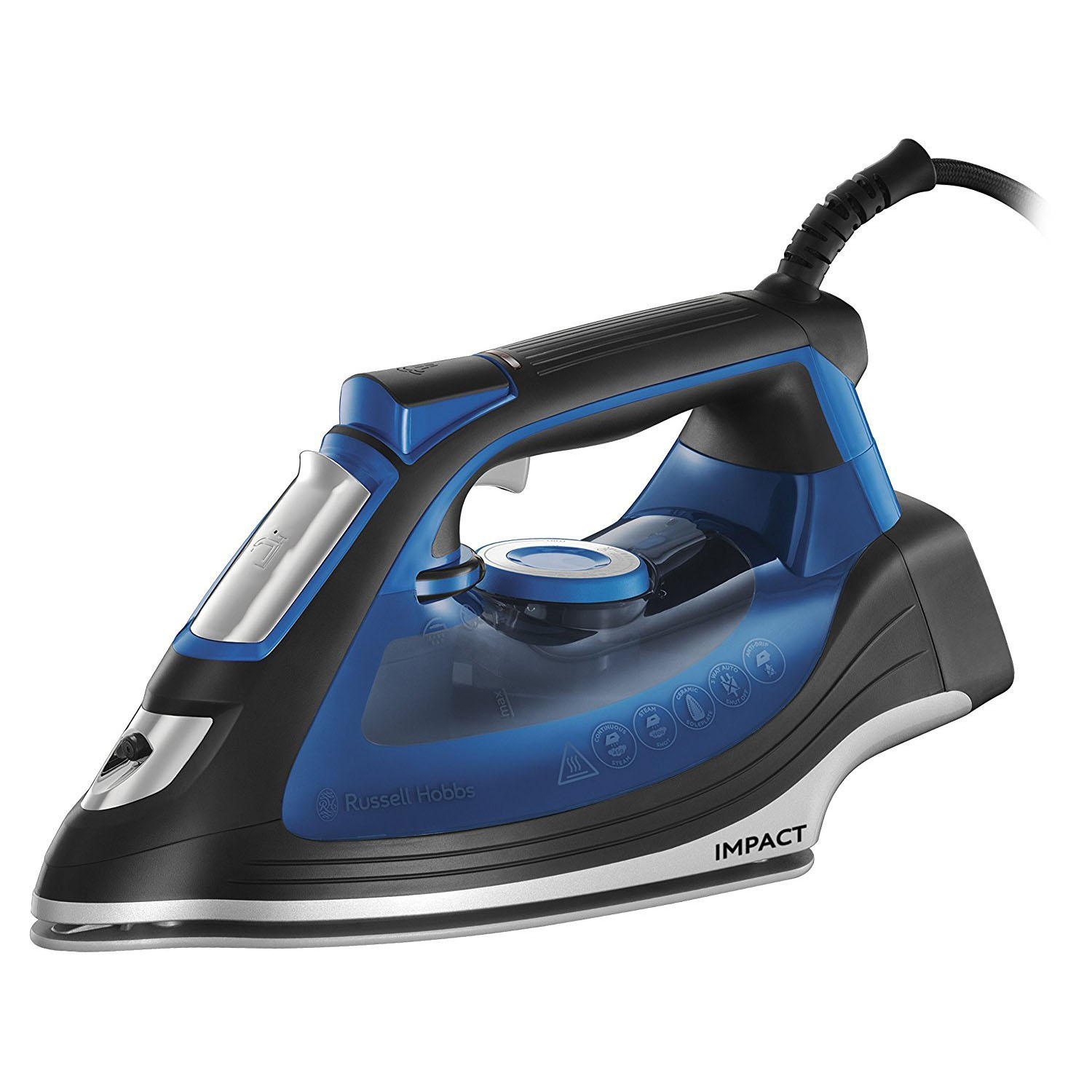 Russell Hobbs 24650 Impact Steam Iron - Blue