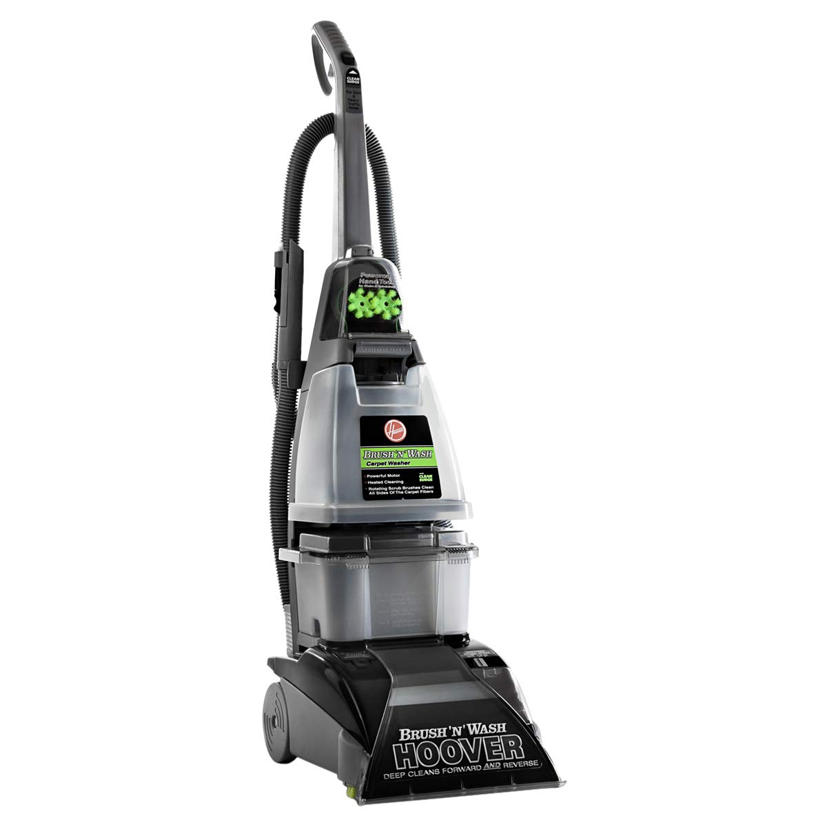 Hoover F5916 Brush 'N' Wash Carpet and Hardfloor Washer