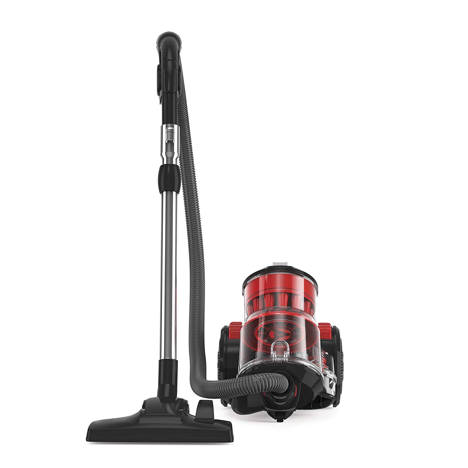 Hoover HC88-MAM Air Multi Cyclonic Canister Vacuum Cleaner - Red/Gray
