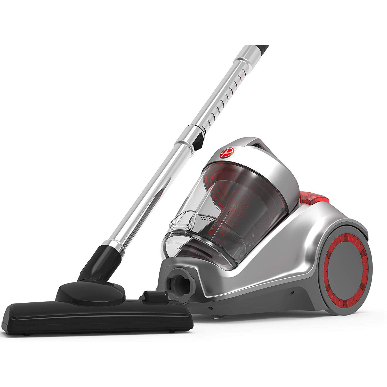 Hoover HC84-P6A-ME Power 6 Canister Vacuum Cleaner - Grey