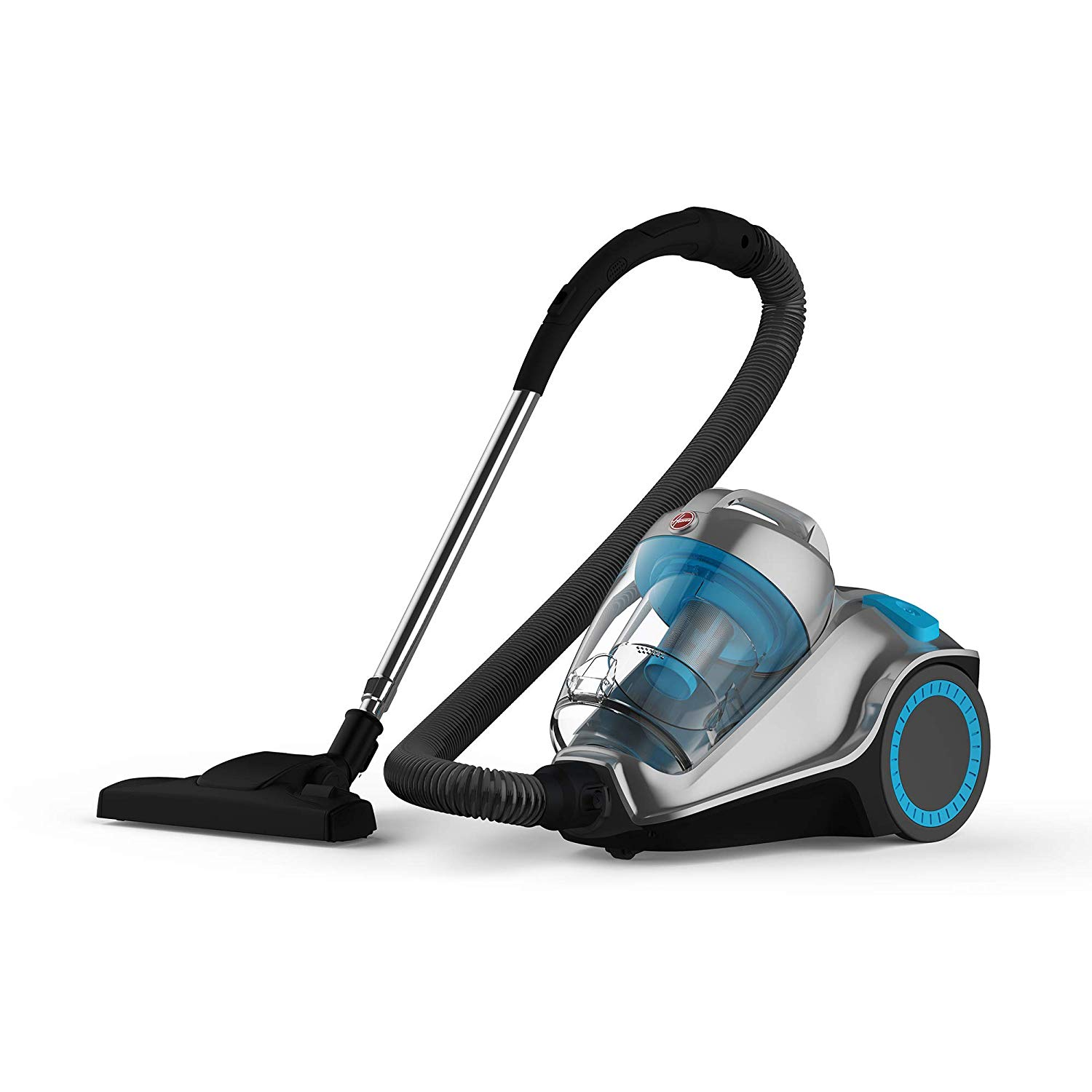 Hoover HC84-P7A-ME Power 7 Canister Vacuum Cleaner - Grey