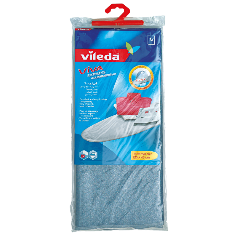 Vileda Aluminum Ironing Board Cover 125 x 46cm VLPC72131 - Blue (pc)