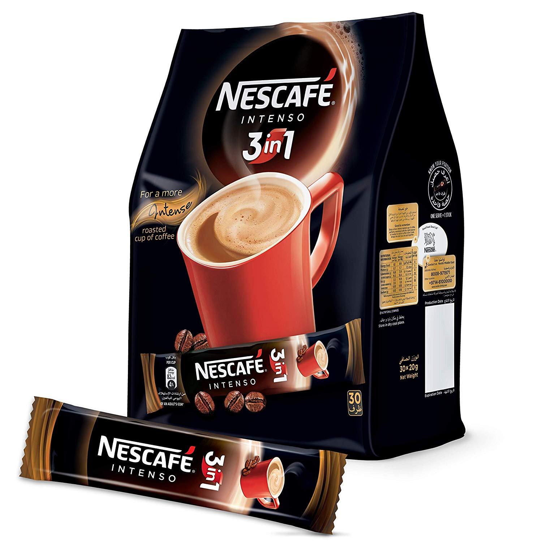 Nescafe 3-in-1 Coffee Mix - Intenso (pkt/30pcs)