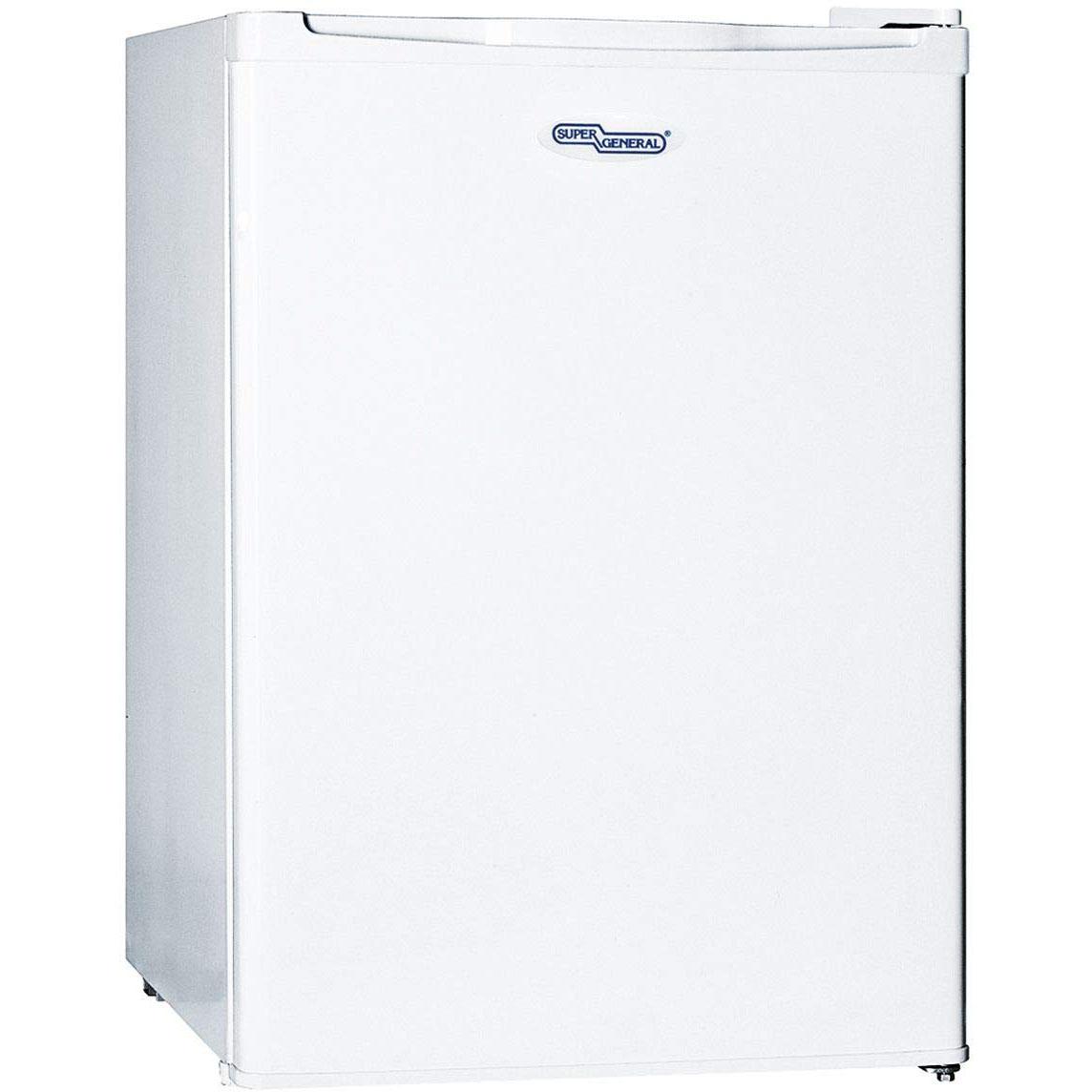 Super General SGR045-H Single Door Refrigerator 90L - White