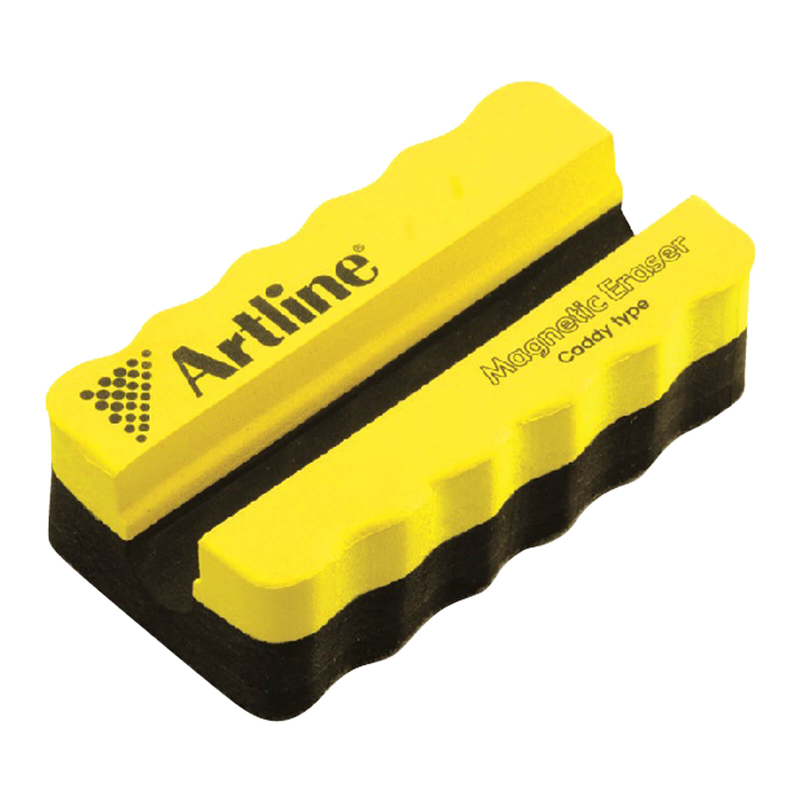 Artline Magnetic Whiteboard Eraser with Holder - Yellow (pc)