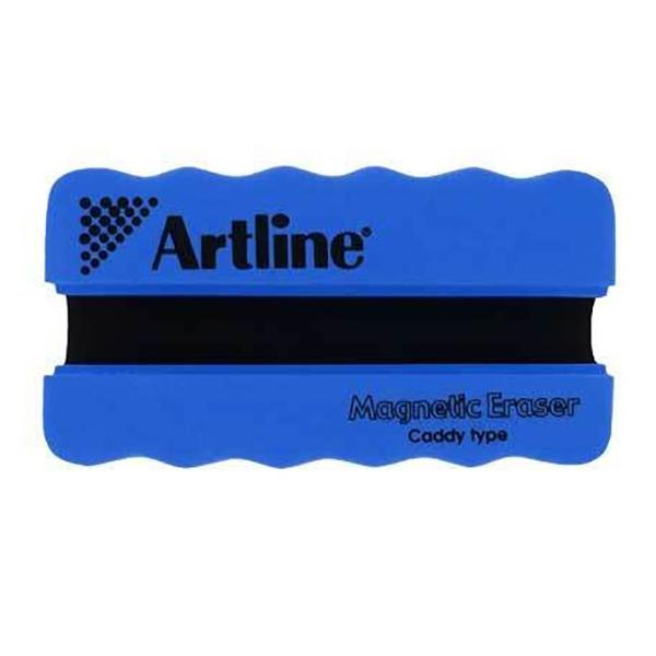 Artline Magnetic Whiteboard Eraser with Holder - Blue (pc)