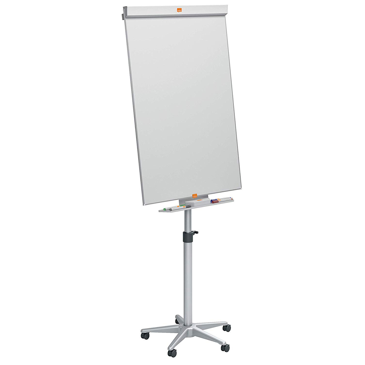 Buy Nobo Barracuda Flipchart Easel With Wheels 100 X 70cm Pc 100 X 70cm Pc Online Aed550 From Bayzon
