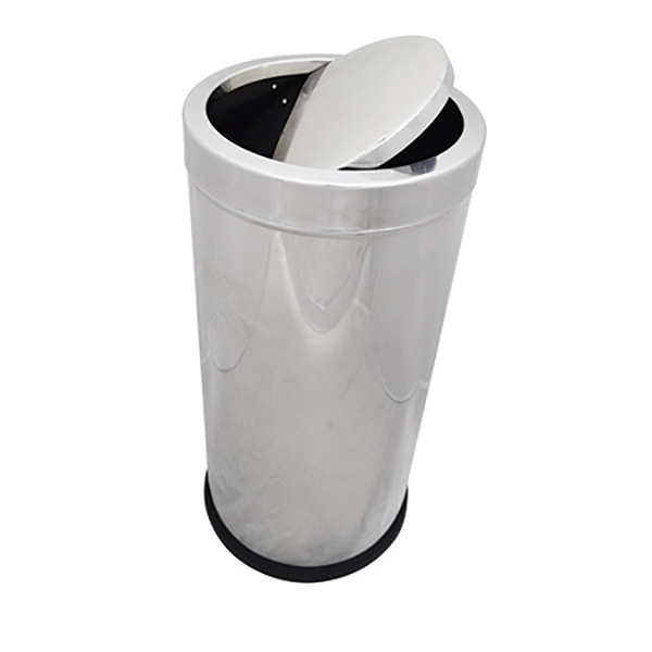 AKC SS23 Stainless Steel Swing Dustbin - 30L (pc)