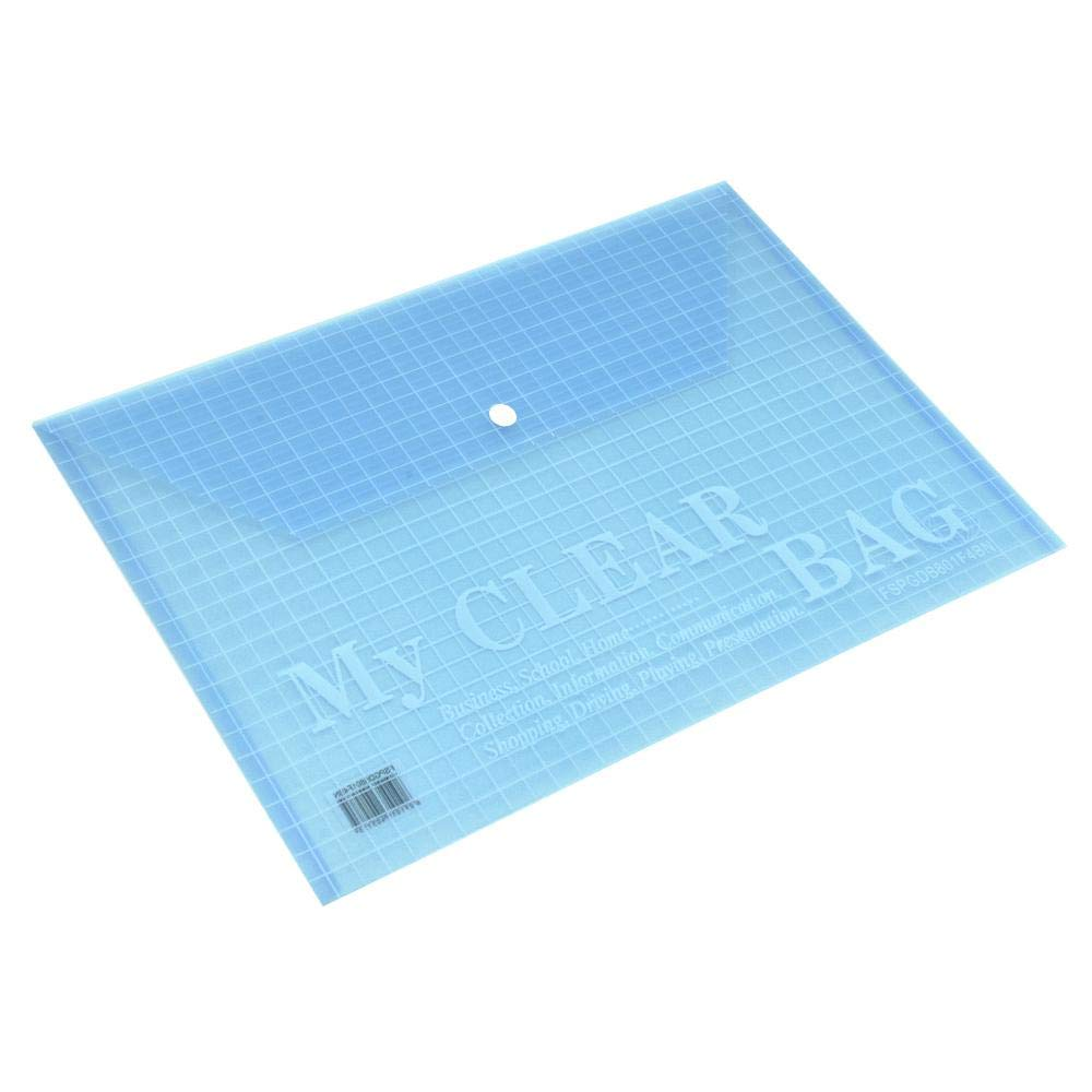 FIS FSPGDB801F4BN My Clear Bag F/S - Blue (pkt/12pcs)