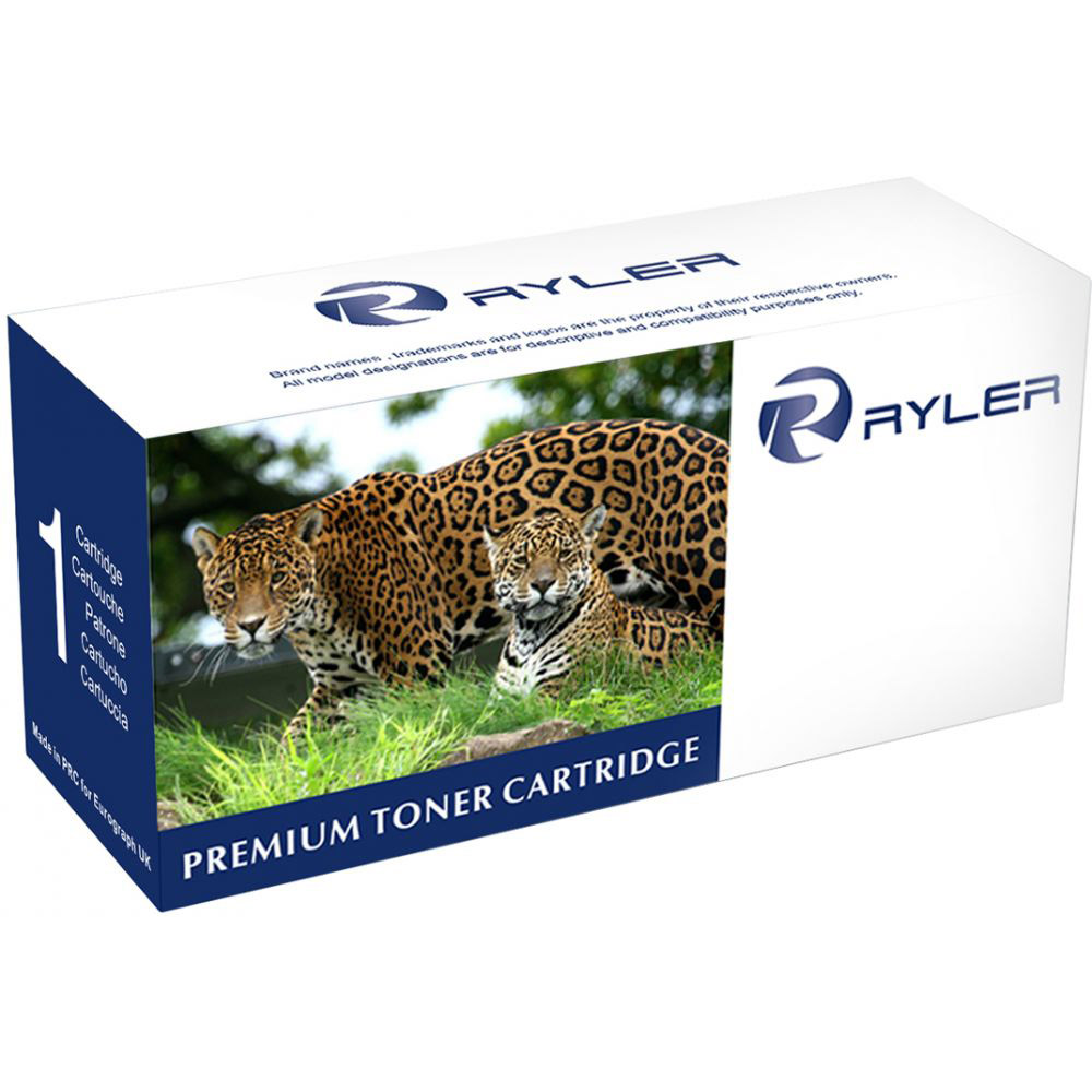 Ryler 913A (F6T77AE) Compatible Toner Cartridge - Cyan