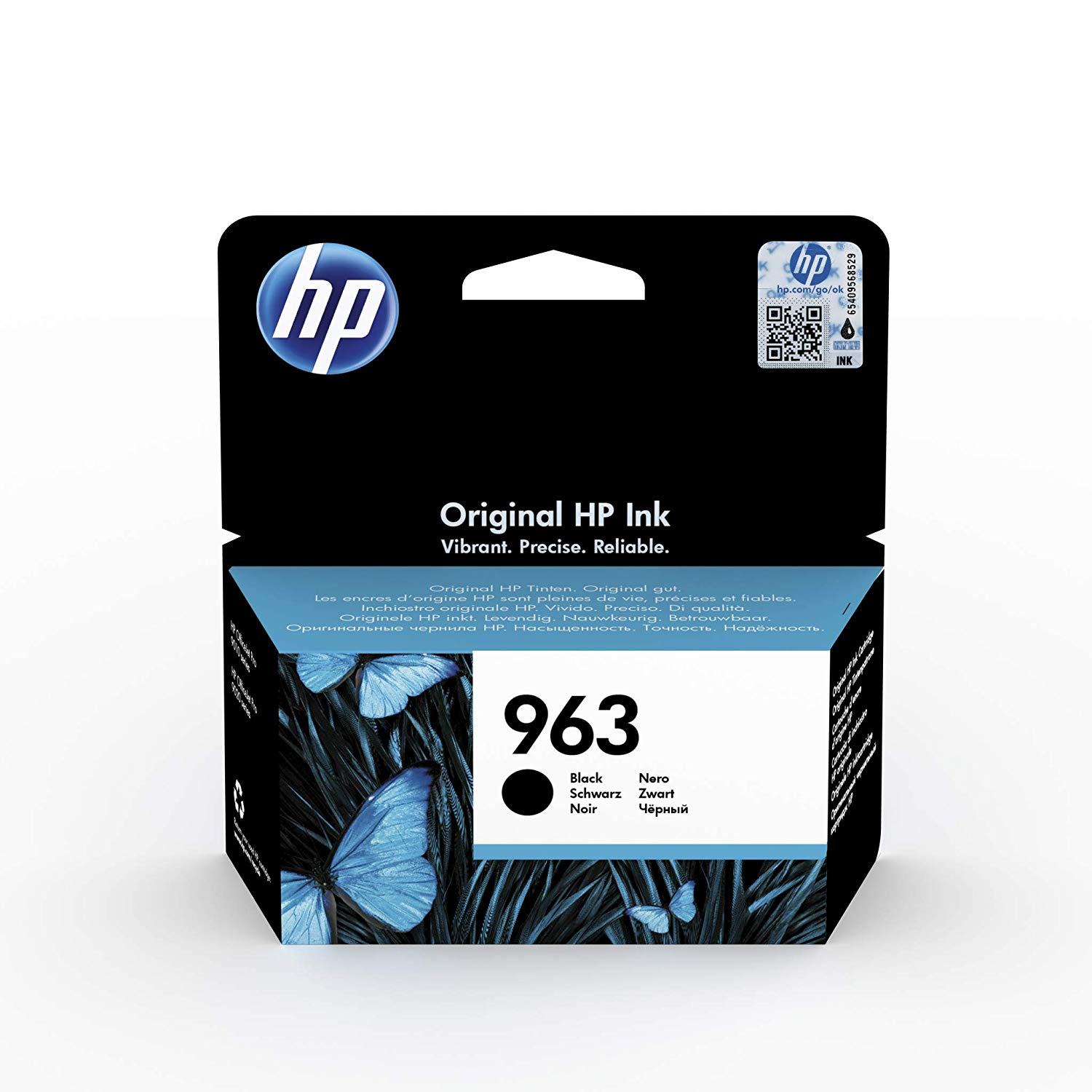 HP 963 (3JA26AE) Original Ink Cartridge - Black