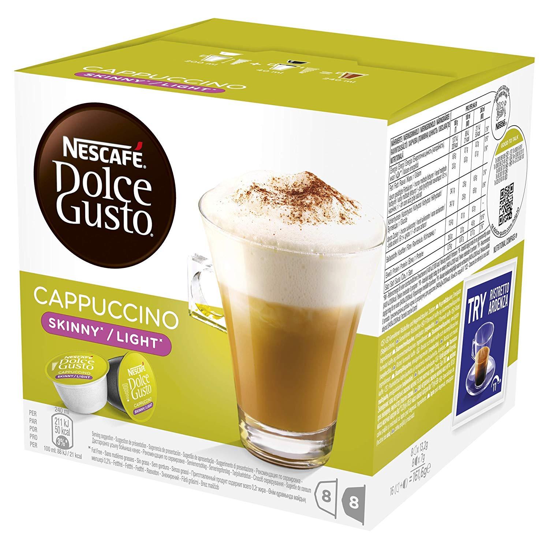 Nescafe Dolce Gusto Skinny Cappuccino Coffee Pods (pkt/16pcs)