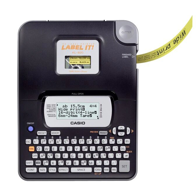 Casio KL-820 LABEL IT Label Printer