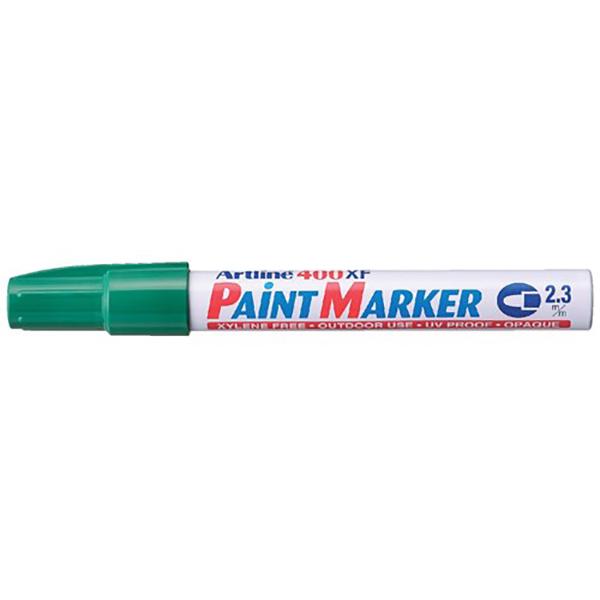 Artline 400 Paint Marker Medium - Green (pkt/12pcs)