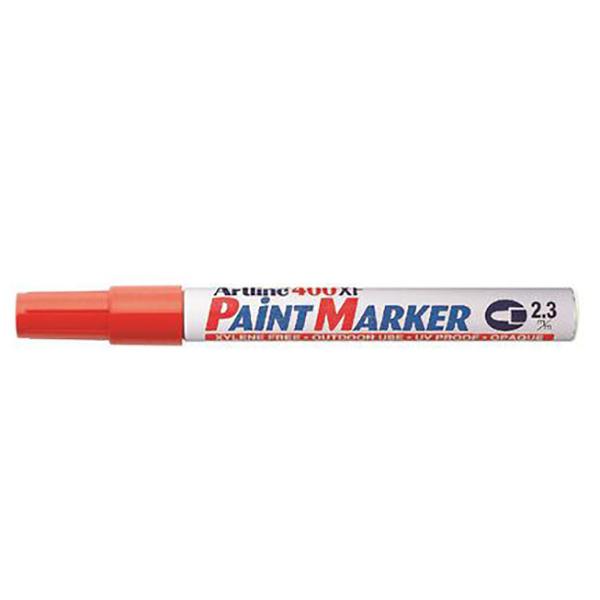 Artline 400 Paint Marker Medium - Red (pkt/12pcs)