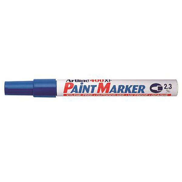 Artline 400 Paint Marker Medium - Blue (pkt/12pcs)