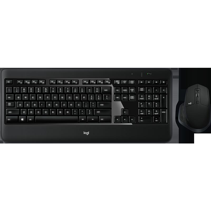 Logitech MX900 Wireless Keyboard and Mouse