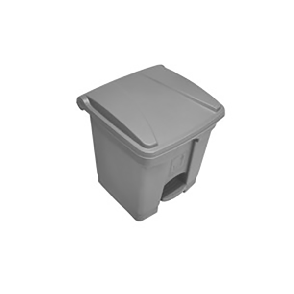 AKC GC 08 Garbage Can with Pedal 30L - Grey (pc)