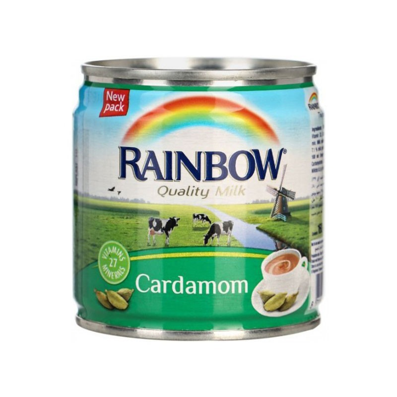 Rainbow Cardamom Evaporated Milk - 170g (pc)