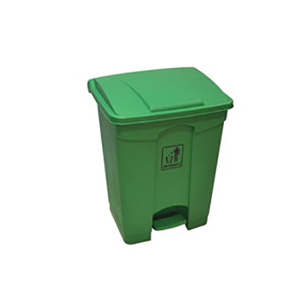 AKC GC 06 Garbage Can with Pedal 68L - Grey (pc)