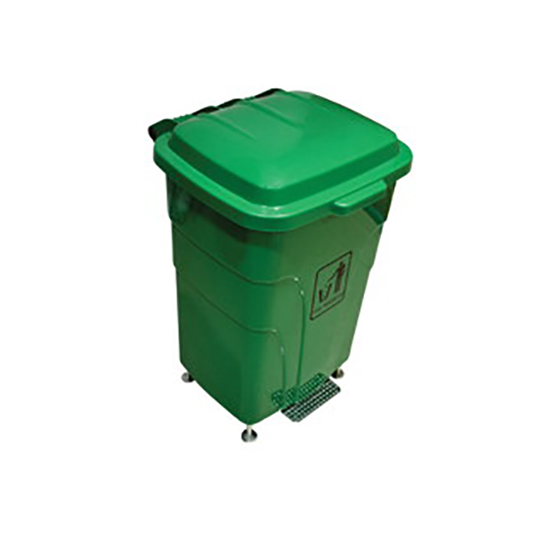 AKC GC 09 Garbage Can with Pedal 70L - Grey (pc)