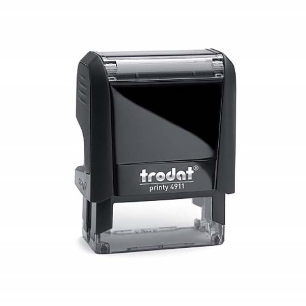Trodat Printy 4911 Customized Self-Inking Stamp CONFIDENTIAL - Red (pc)