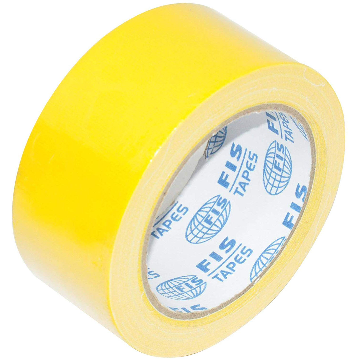 FIS Duct Tape 2in x 20yds FSTA2X20DTYL - Yellow (pc)
