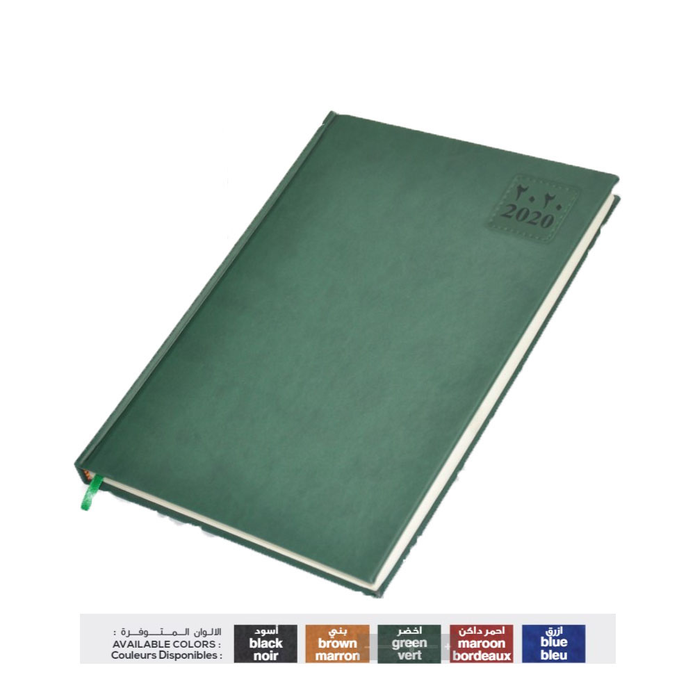 FIS 48AEP 2020 A4 Diary 1-Day A Page Friday & Saturday Combined A4 FSDI48AEP20BK - Black (pc)