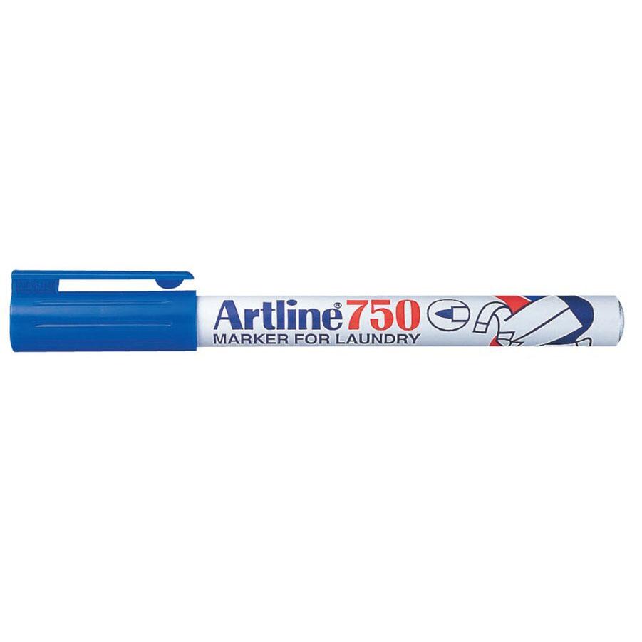 Artline 750 Bullet Laundry Marker 0.7mm - Blue (pc)