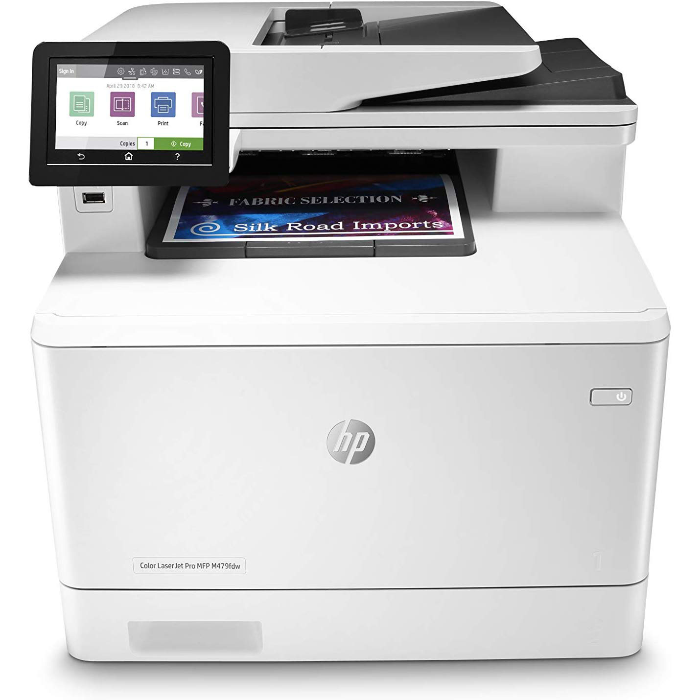 HP LaserJet Pro MFP M479fdw Color Printer