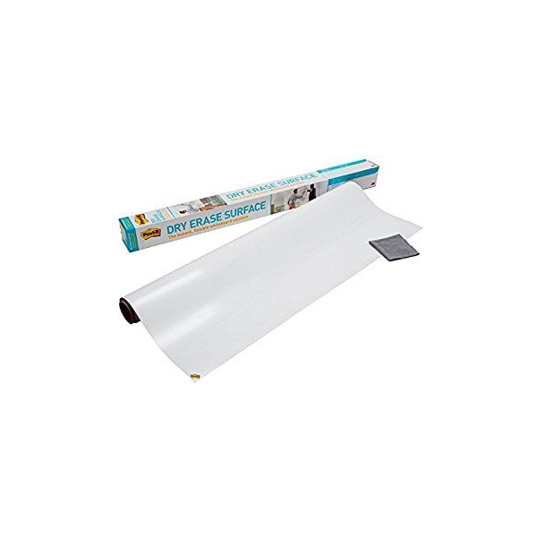 3M Post-it Dry Erase Surface Magic-chart without Tray - 120 x 240cm (pc)