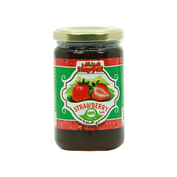 Hayyaf Strawberry Jam 380g