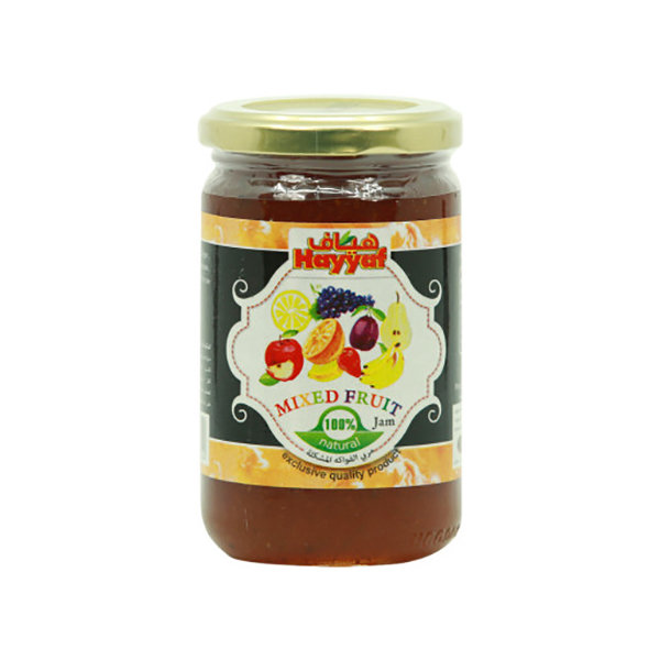 Hayyaf Mix Fruit Jam 380g