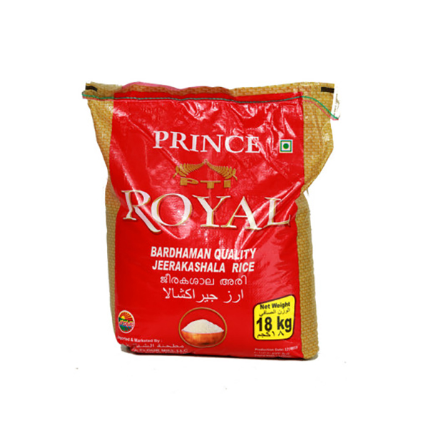 Royal Jeerakasala Rice 18kg